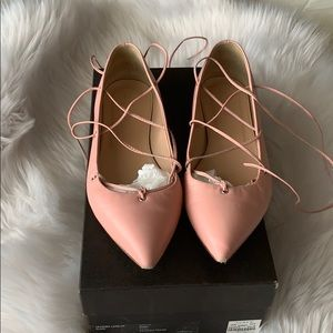 NEW LISTING! J.Crew leather lace up flats